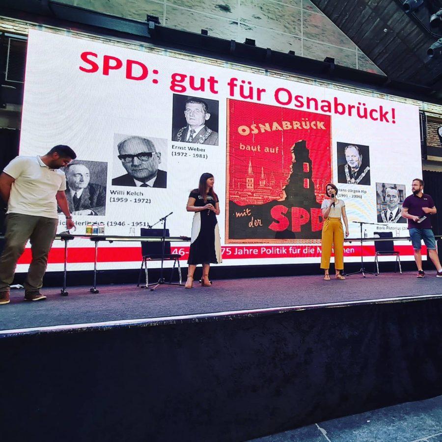 Manuel Gava 75 Jahre SPD Osnabrück